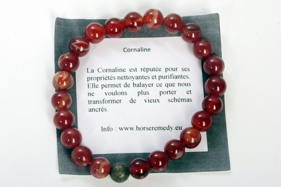 Bracelet Cornaline - Purification