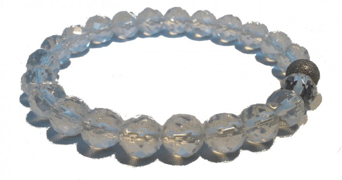 Berg kristal armband