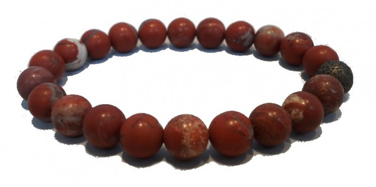 Bracelet Red Jasper - Grounding