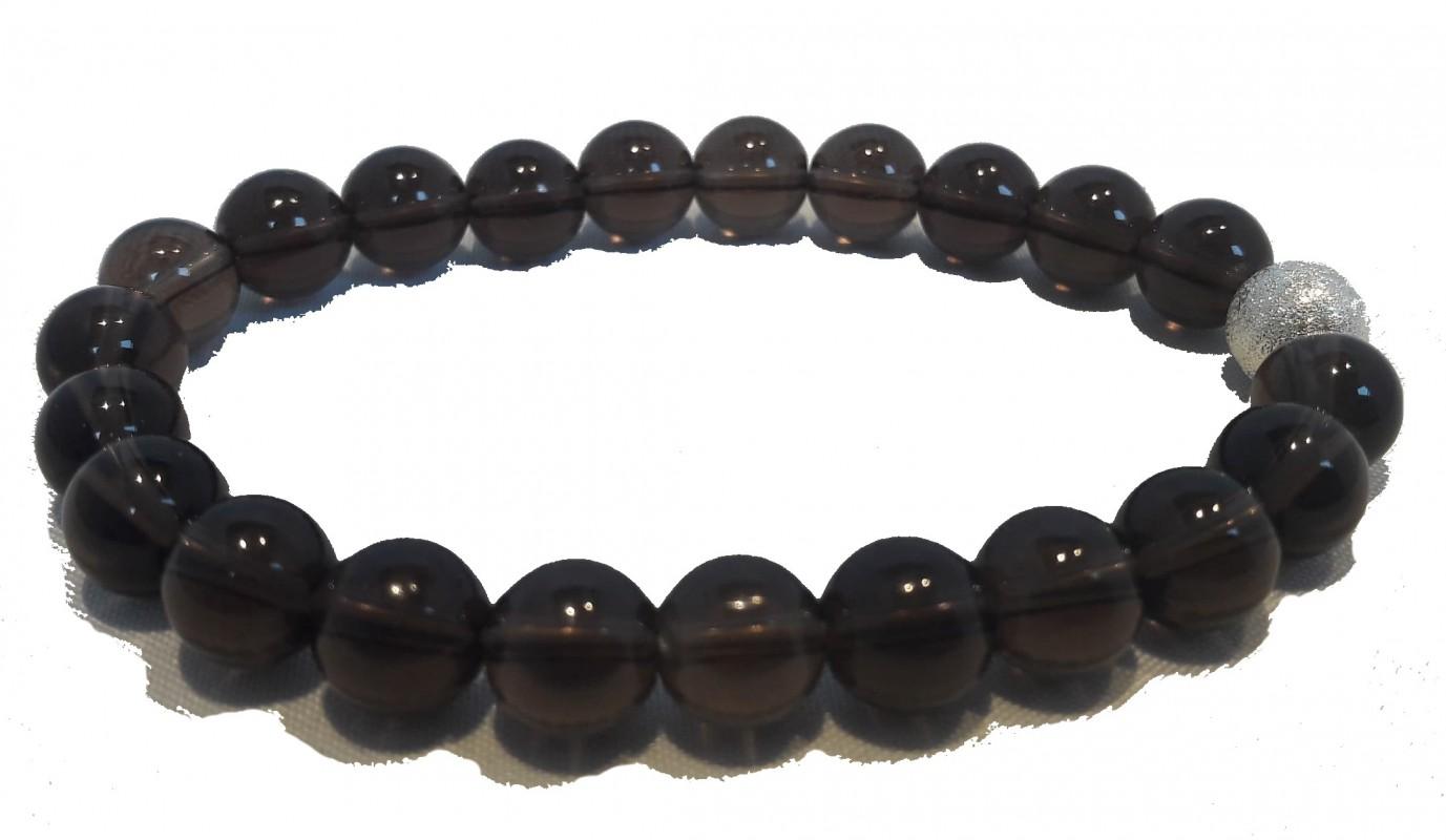 Bracelet Quartz fumé - Clarté