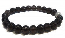 Smoked Quartz Bracelet - Clarity