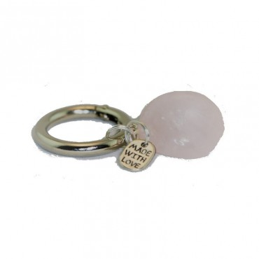 Rose Quartz Lucky Charm